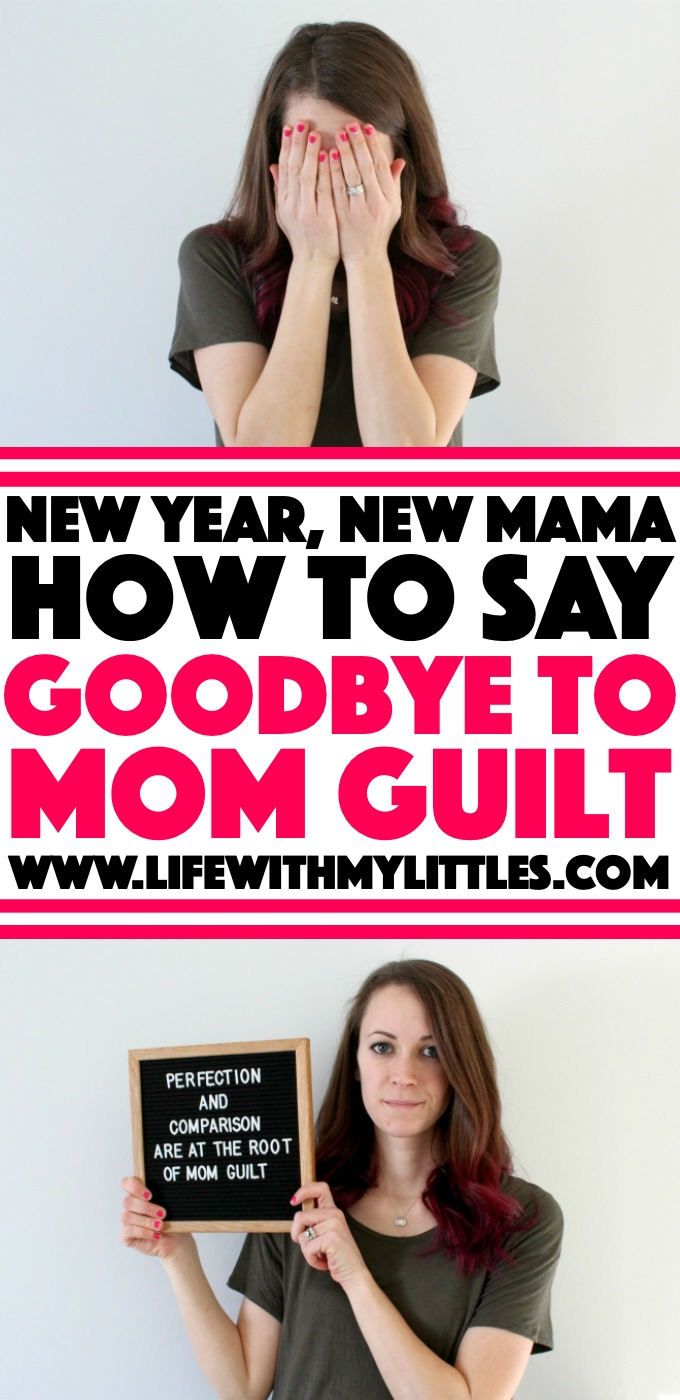 If you're going to have the best year ever, you've got to start with one thing that all mamas struggle with: mom guilt. This INCREDIBLE must-read post breaks down where mom guilt comes from and how to say goodbye to feeling it. (Great for all stages of motherhood!)