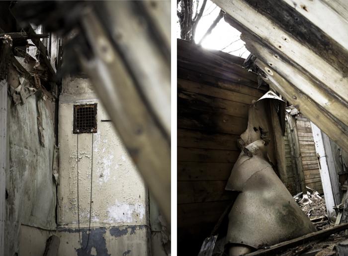 autiotalo sijainti ue urban exploring urban ninja urbaani löytöretkeily pudonnut lattia sisäkuva
