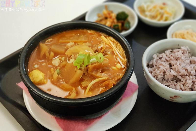 46611636364 a2952655e8 c - 韓國夫婦廚師開的韓國料理!米花停的韓式辣醬豬肉份量多肉肉控會愛,泡菜豆腐湯味道也不一般啊~