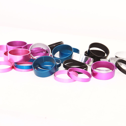 White Industries / Headset Spacers / Various colors