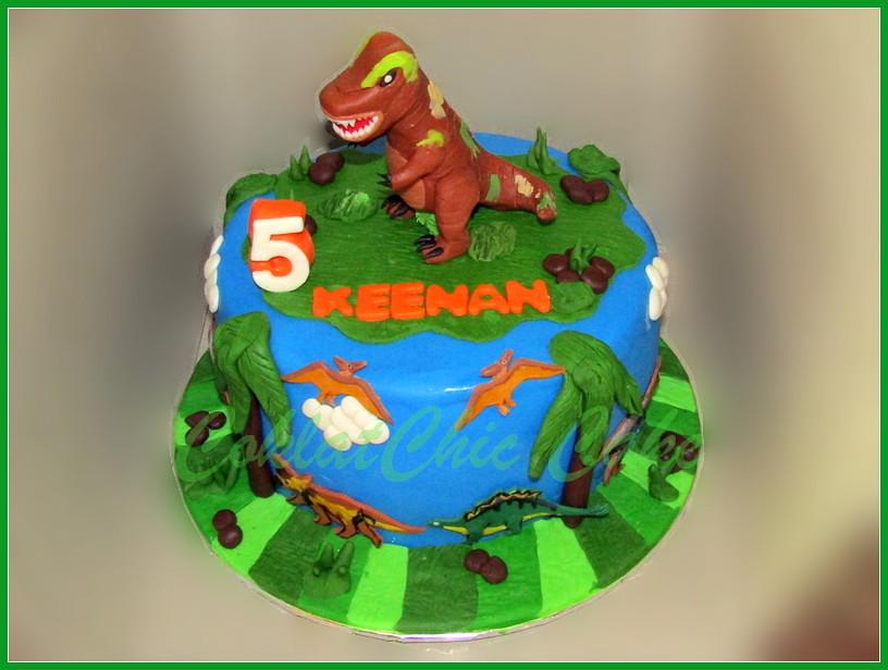 Cake Dino KEENAN 20 cm