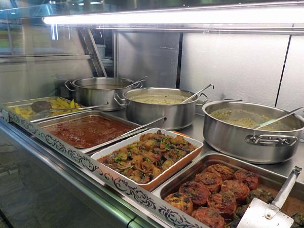les cuisines de la taverne d'épire