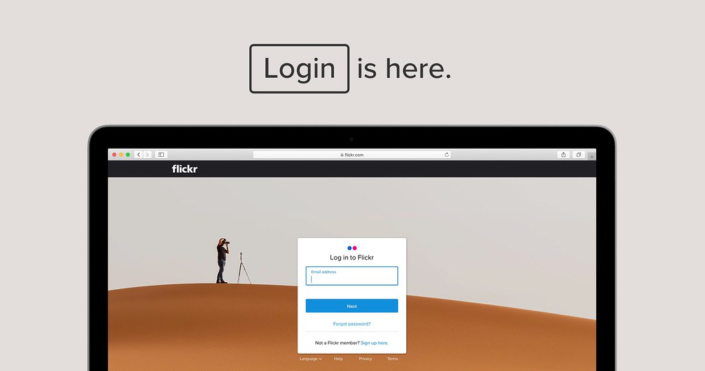 Flickr login freedom is here.