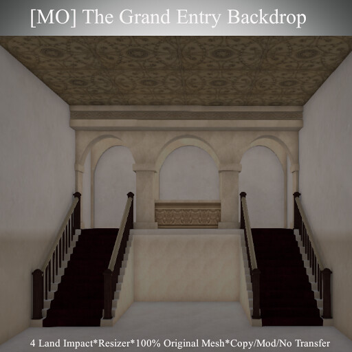 [MO] The Grand Entry Backdrop