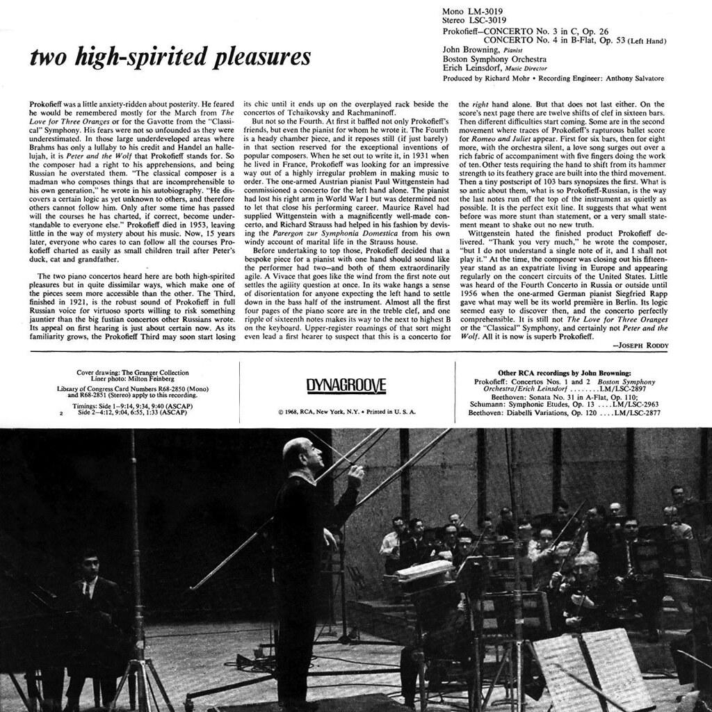 Sergei Prokofiev - Piano Concertos Nos. 3 & 4