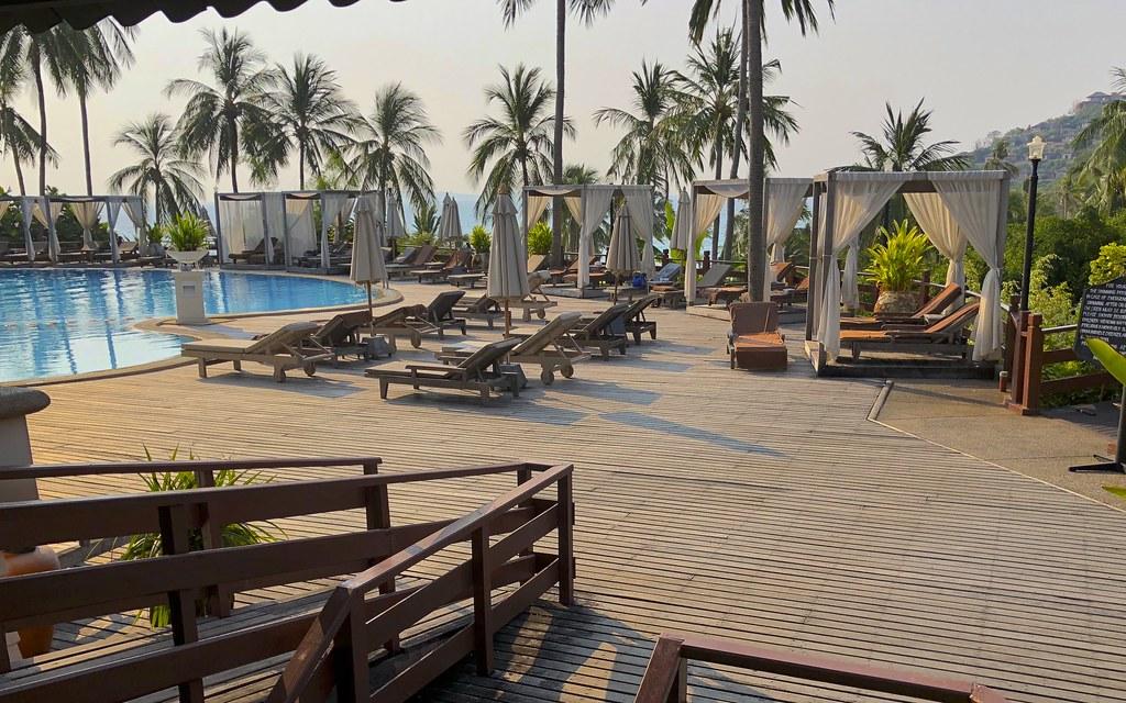 Cape Panwa Hotel - allasalue