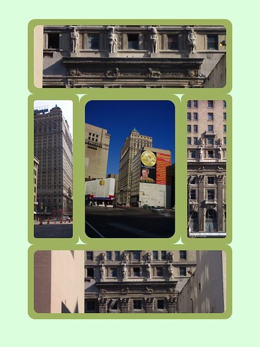Detroit Michigan ~  Westin Book Cadillac Detroit ~ Historic Hotel