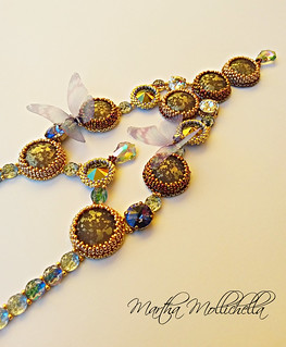 Martha Mollichella Swarovski necklace one of a kind