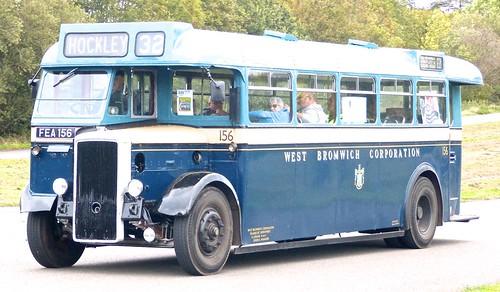 FEA 156 'West Bromwich Corporation' No. 156. Daimler CVG5 /  Metropolitan Cammell Carriage & Wagon Co. /1 on Dennis Basford 'railsroadsrunways.blogspot.co.uk'