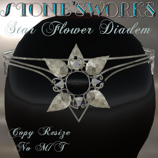 Star Flower Diadem Slv Stone's Works