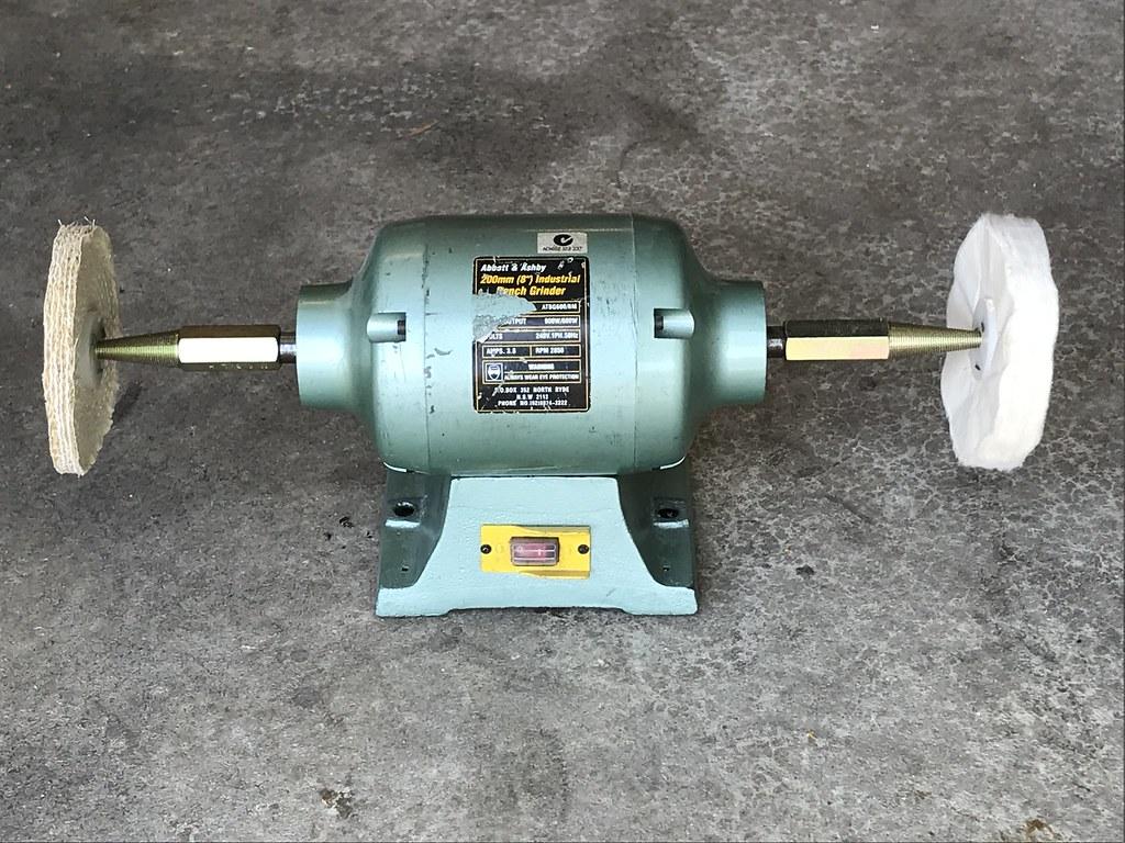Metal Polishing Kit Bench Grinder Buffing Wheels Kit 2