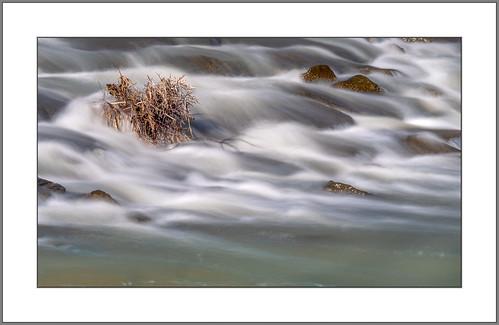Stromschnellen in der Rott (rapids at the river Rott)