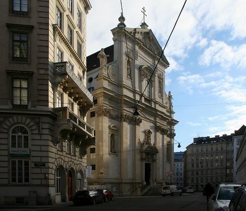 Wien, 1. Bezirk: Postgasse und Dominkanerkirche