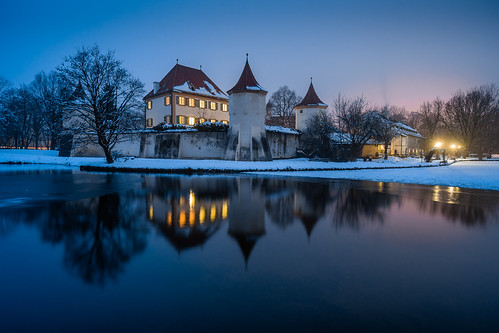 Blue Hour at Blutenburg from Toni Hoffmann