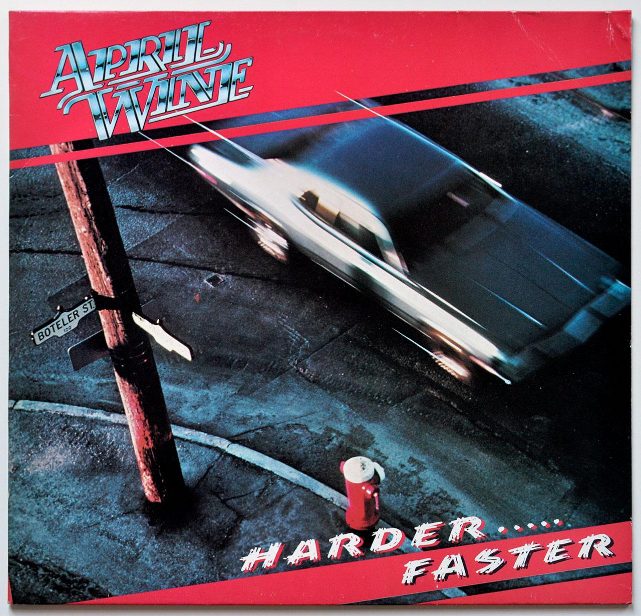A0722 APRIL WINE Harder … Faster