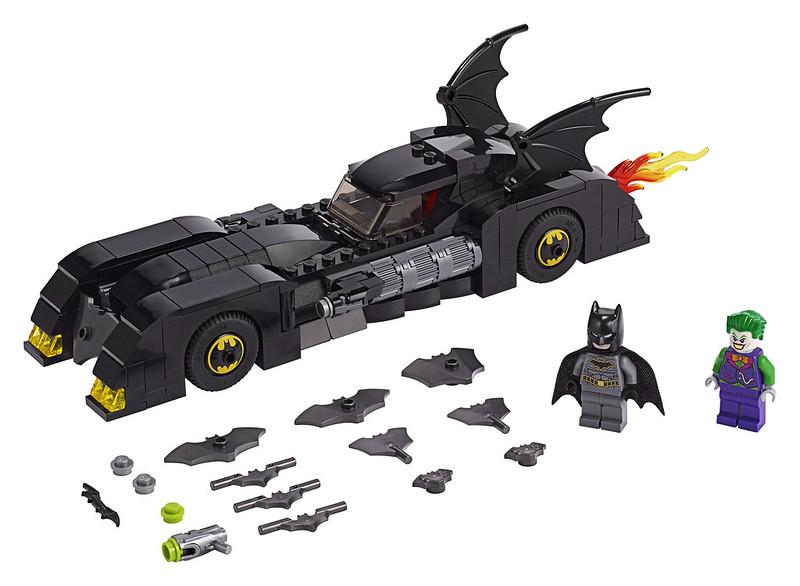 Batmobile: Pursuit of The Joker (76119)