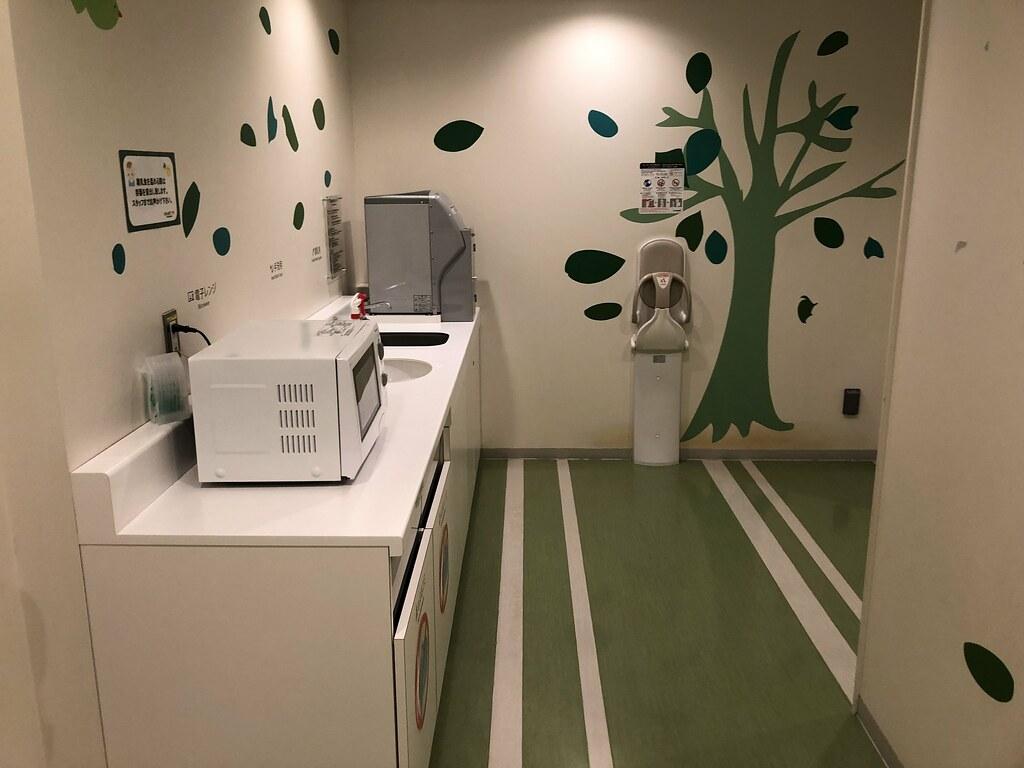 La sala para bebés