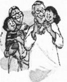 NCERT Solutions for Class 2 English Chapter 18 Granny Granny Please Comb my Hair 1