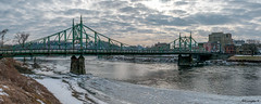 The Free Bridge Panorama by Bruce Livingston