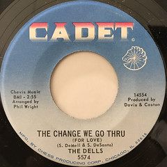 THE DELLS:O-O, I LOVE YOU(LABEL SIDE-B)