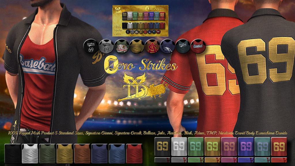 99 L$ 24h ^TD^0 Strike/ Branden Shirt&Tank [FATPACK]