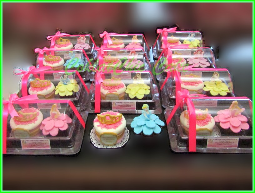 minicake dan cupcake set Crown & Princes