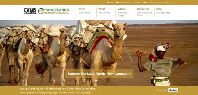 International Land Coalition-Rangelands Initiative Website