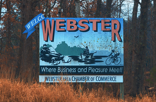 Welcome to Webster, Wisconsin