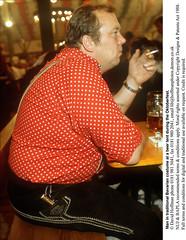 Fat Man At Oktoberfest