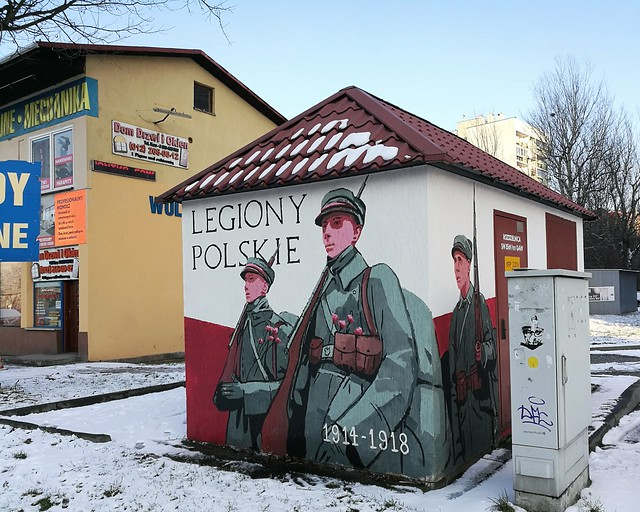 Karol Maziarek, Legiony polskie