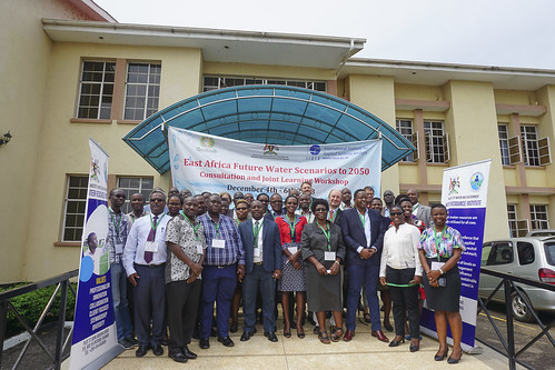 18.12 East Africa Future Waters Scenarios to 2050 Workshop in Entebbe