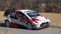 Tanak at Basse Correo Stage on Monte-Carlo Rally