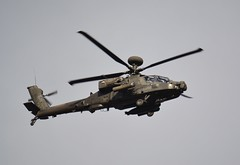 Apache Over Holbeach Range
