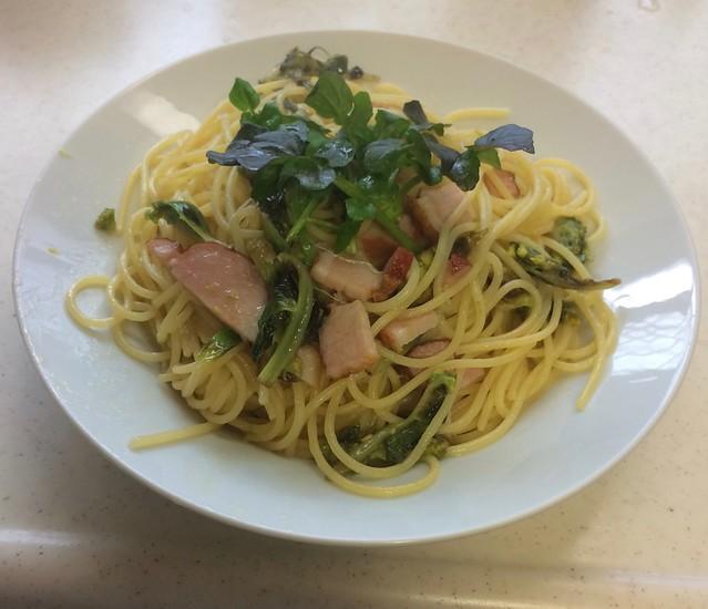 Pasta with HUKINOTOU