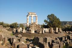 Grecia. Delfos. Santuario de Atenea Pronaia (15)