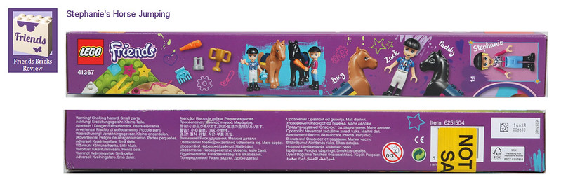 Heartlake Times Review 41367 Stephanies Horse Jumping