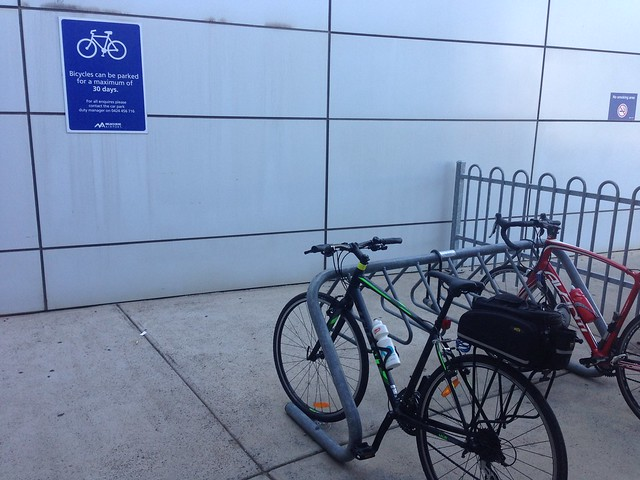 Melbourne Airport bicycle parking
