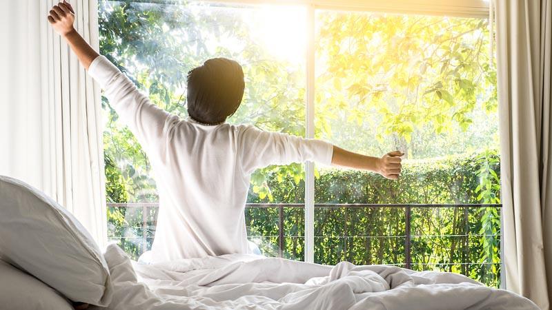 Bangun dan Tidur dengan bahagia
