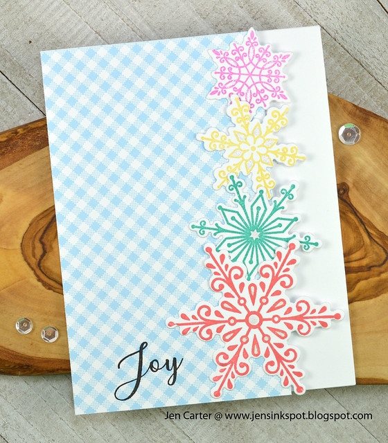 Jen Carter Peaceful Flakes Joy Side