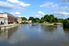 The Charente river at Jarnac , France. Nikon D3100. DSC_0049.