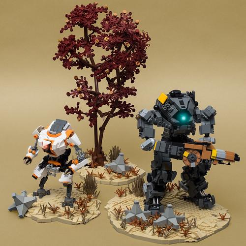"Ion on Forward Base Kodai (from ""Titanfall 2"")"