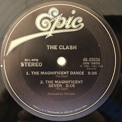 THE CLASH:THE CALL UP(LABEL SIDE-B)