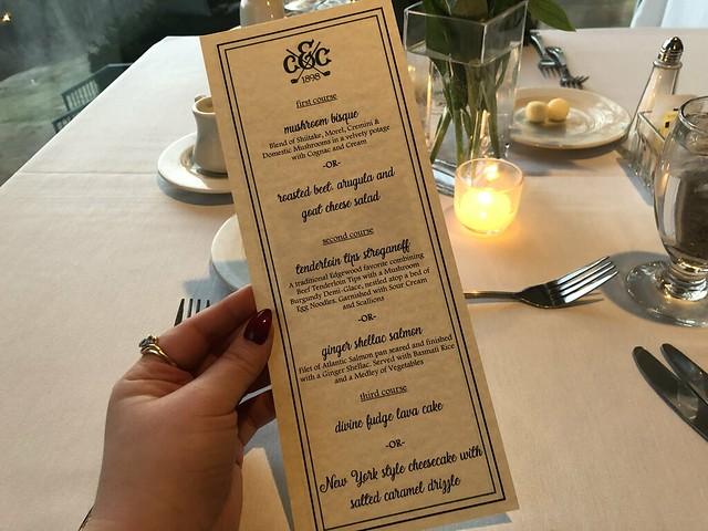 Charleston Restaurant Week - Edgewood