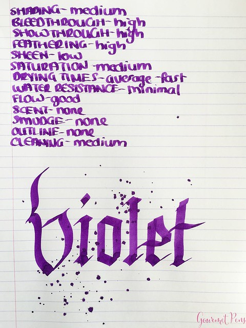 Cross Violet Ink 9