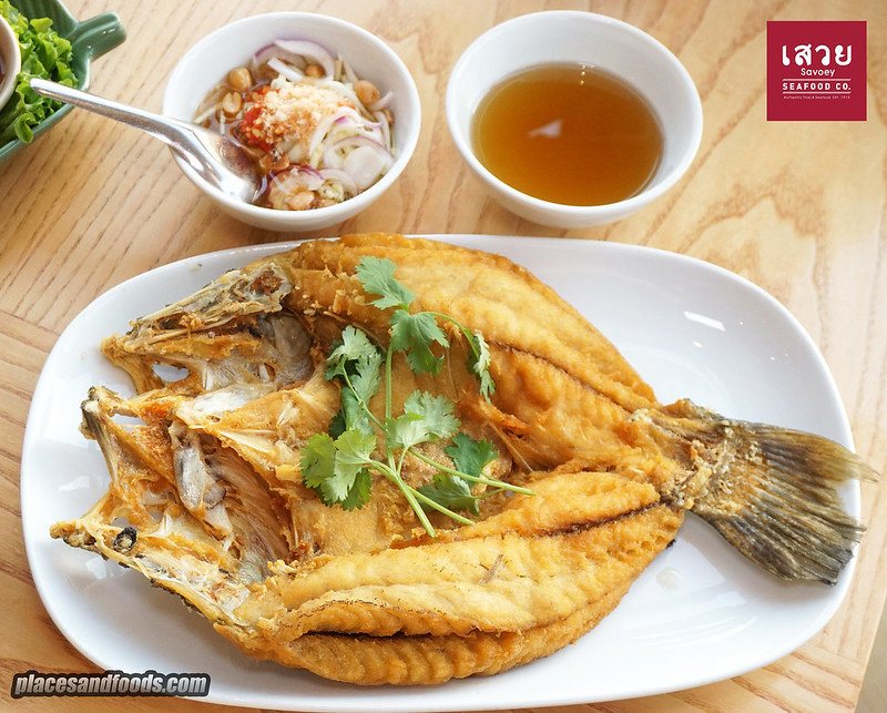 savoey pattaya fried snapper
