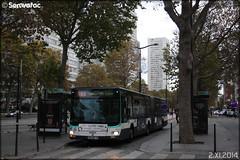 Man Lion's City G - RATP (Régie Autonome des Transports Parisiens) / STIF (Syndicat des Transports d'Île-de-France) n°4610