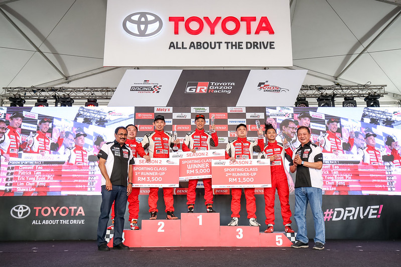 Thrilling Race 2 Action The Toyota Vios Challenge In Stadium Batu Kawan Penang