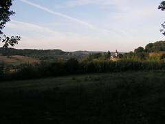 20080917 38499 1018 Jakobus Wiese Wald Hügel Kirche - Photo of Sainte-Alauzie