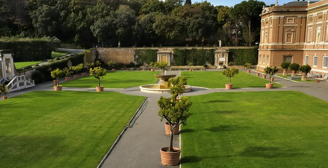 Papal retreat - Giardino Quadreto, Vatican City, Rome.