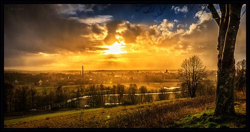 sunset over Altenstadt